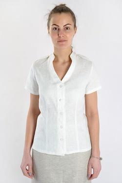 Купить Блузку Изо Льна