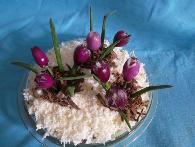 салат подснежник рецепт с фото называют
