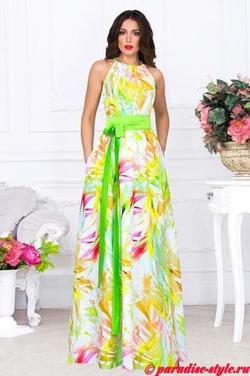 206560f6da7 Летние платья и сарафаны в пол - Распродажа 40% от опта. Спец ...