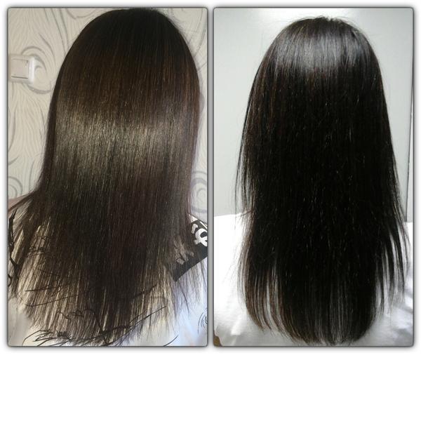 Волосы после кератина пушатся
