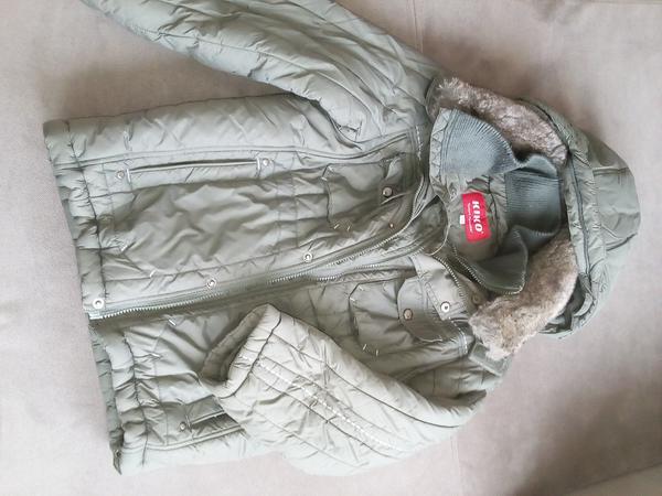 Продам очень теплую зимнюю куртку KIKO для мальчика. На 8-9 лет, рост 134.  Двойная застежка, много карманов. Все замки, кнопки работают. 7a1a57263a8