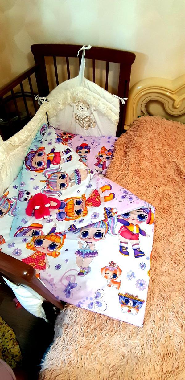 Двухсторонний комплект постельного белья куклы LOL.1000 руб. Возможно  изготовление любых размеров.т.8982 599 29 39 2da2e0d459051
