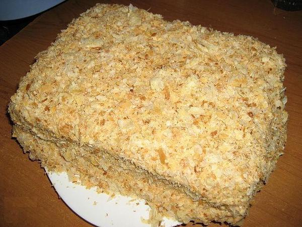 как готовить торт наполеон фото