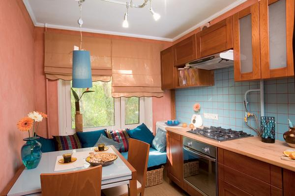 Дизайн кухни 12 кв.м квартире