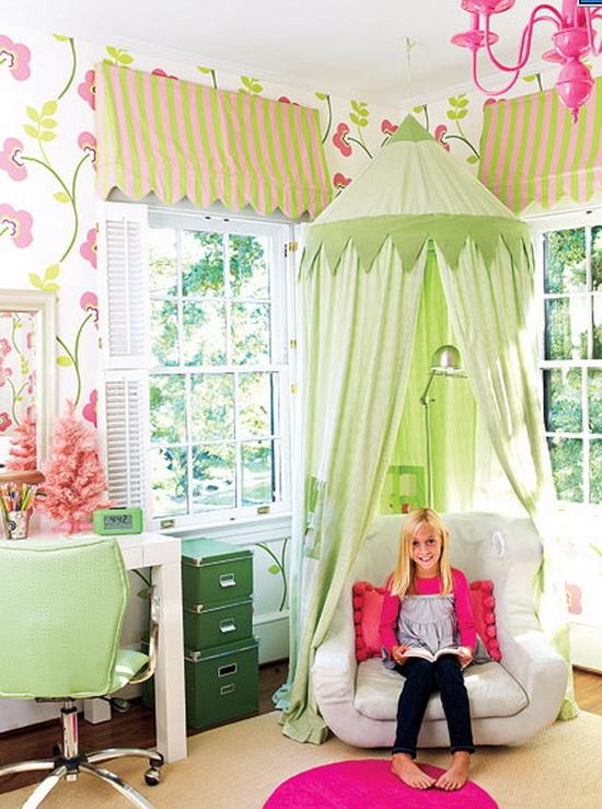 Как сделать детскую комнату для девочки своими руками фото быстро и красиво 51