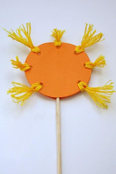 Солнце на палочке