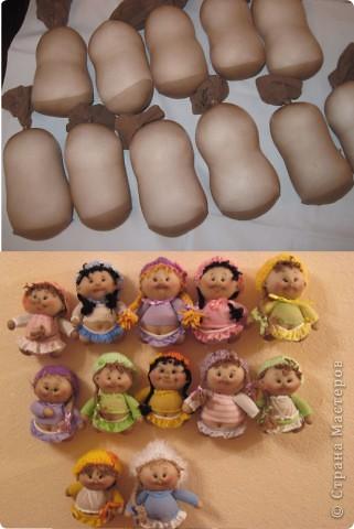Куклы своими руками из капрона пошагово